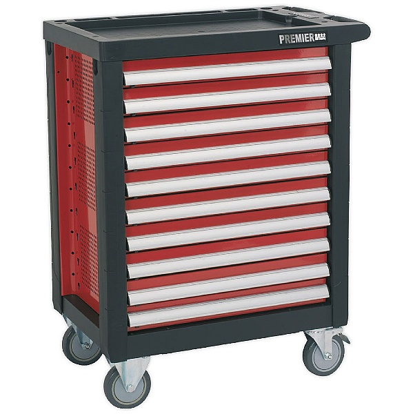 Sealey Premier 10 Drawer Rollcab With Ball Bearing Slides