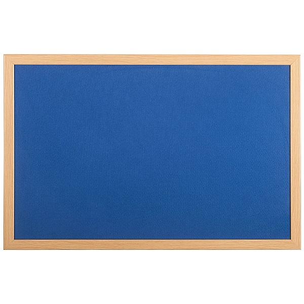 Bi-Office Oak Framed Felt Notice Boards