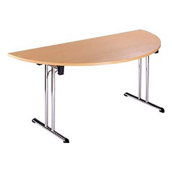 NEXT DAY Unite II Classic Semi Circular Folding Tables