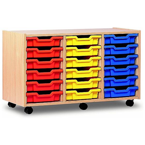 18 Tray Shallow Storage