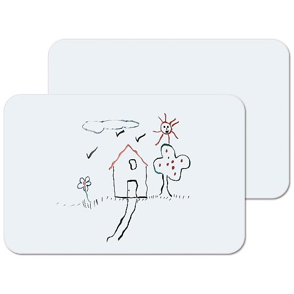 Bi-Office Laptop Whiteboards (Packs of 6)
