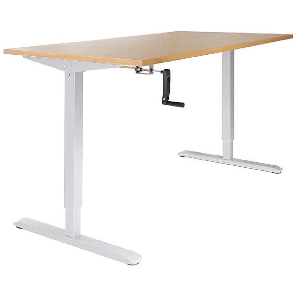 Scholar Crank Height Adjustable Desks