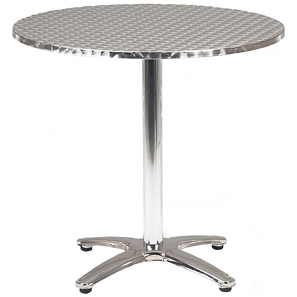 Aluminium Bistro Round Table