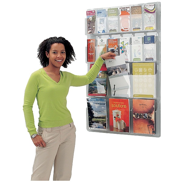 All Clear Wall Mounted Leaflet Dispensers
