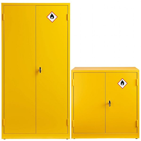 Express Double Door Flammable Liquid Cupboards