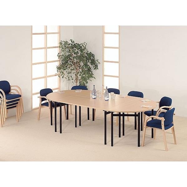 Easyfold® Semi-Circular Table