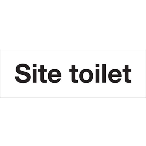 Site Toilet Sign