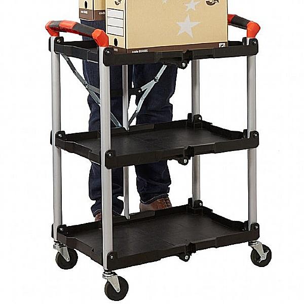 3 Shelf Folding Trolley