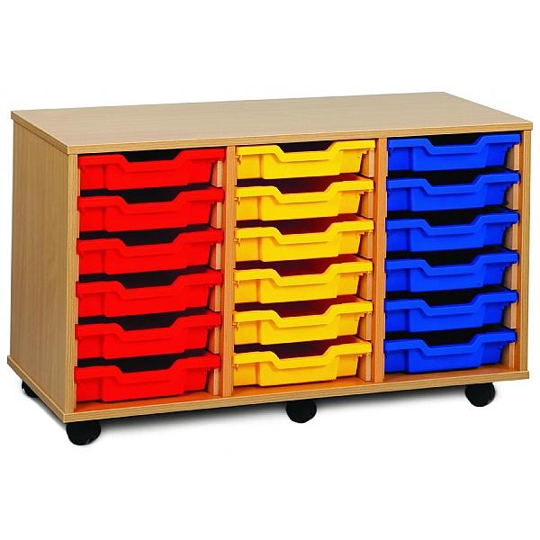 21 Tray Shallow Storage