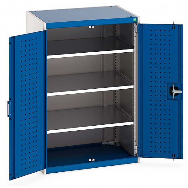 Bott Cubio Perfo Panel Cupboards - 800W x 650D