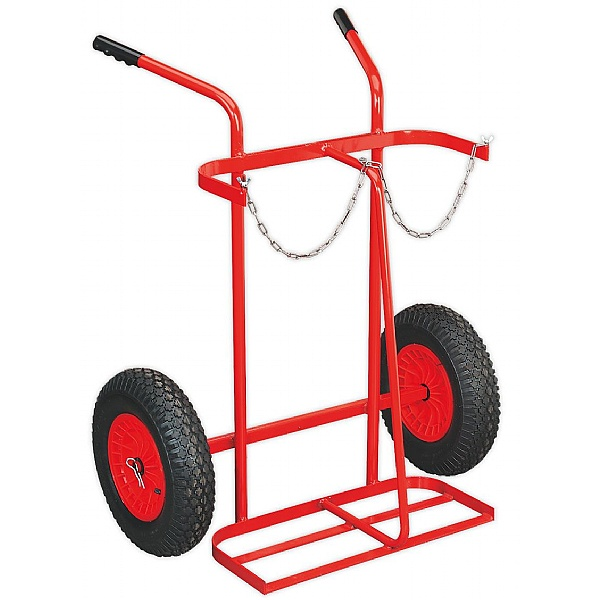 Sealey 300mm Cylinder Trolley With Pneumatic Wheels