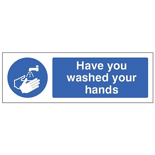 Have you washed your hands - Floor Graphic