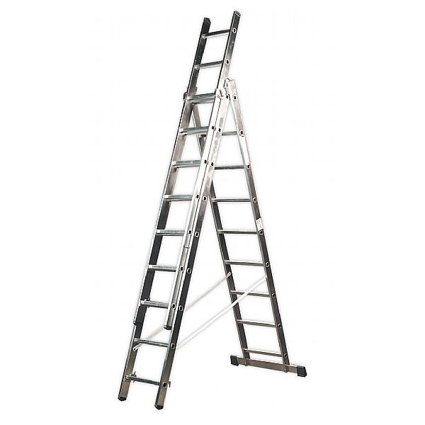 Sealey Aluminium Extension Combination Ladders - EN 131