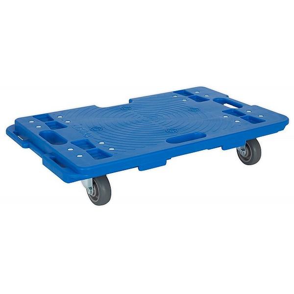 Sealey Interlocking Plastic Dolly - 150kg Capacity
