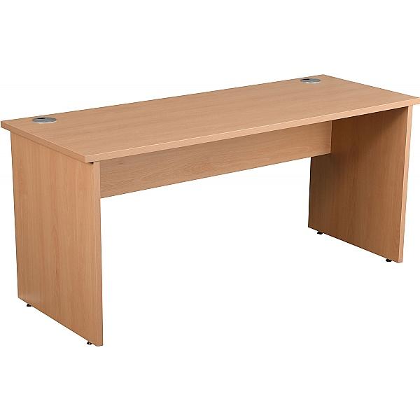 Next Day Karbon K2 Compact Rectangular Panel End Office Desks