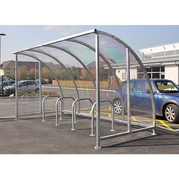 Enterprise Perspex Cycle Shelter