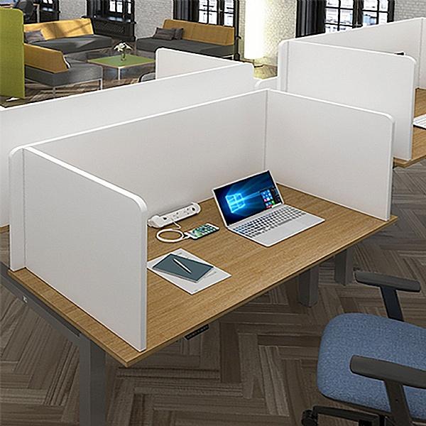 Armor MFC 3-Sided Freestanding Desktop Screens