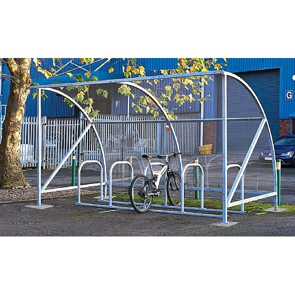 Element 10 Bike Cycle Shelter & Rack - Special Offer