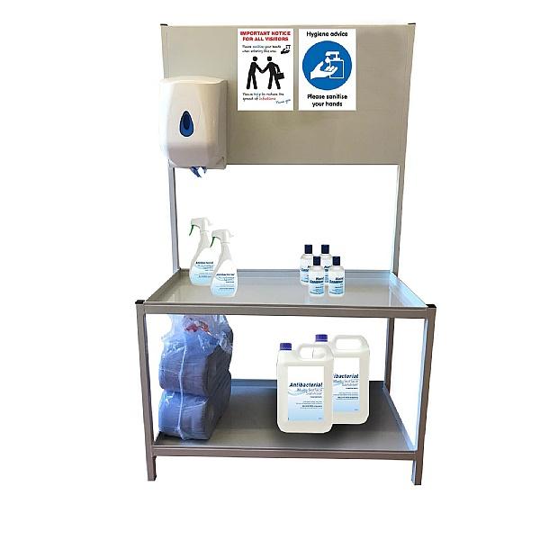 Static Hand Sanitiser Station