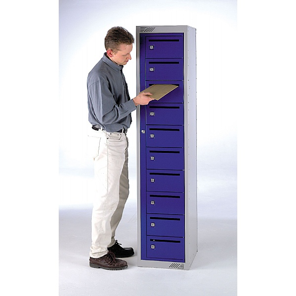 Store-It Post Lockers With ActiveCoat