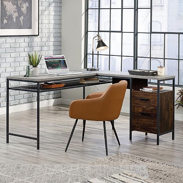Aztek L-Shaped Home Office Workstation