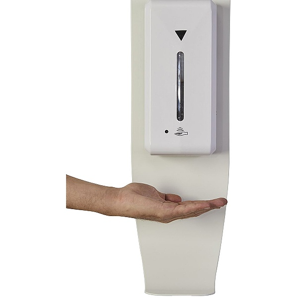 Wall Mounted Sanitising Station with Automatic Dispenser