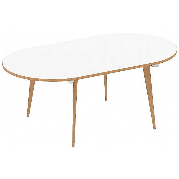 Bianco Oval Boardroom Table