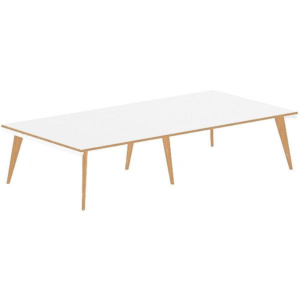 Bianco Rectangular Boardroom Table