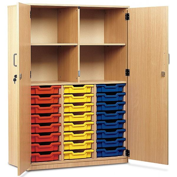 Large Volume Tray Storage Cupboard