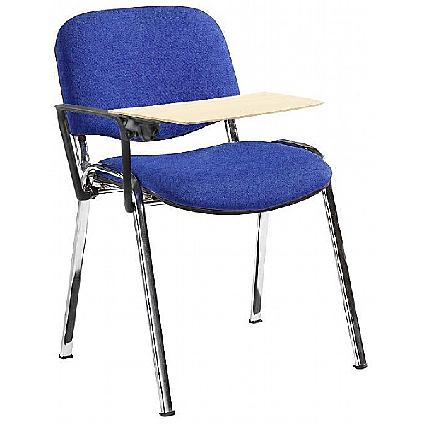 Swift Chrome Frame Conference Chairs With Wooden W