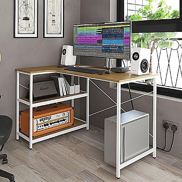 Theo Home Office Corner Desk