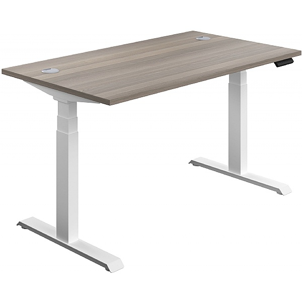 NEXT DAY Commerce II Height Adjustable Rectangular Sit-Stand Desks