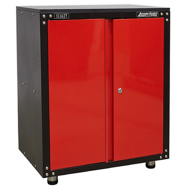Sealey American Pro Modular 2 Door Cabinet with Worktop