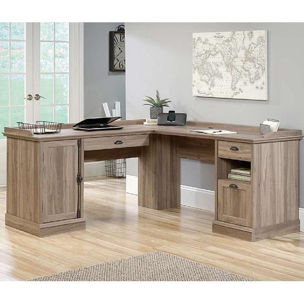 Iris L-Shaped Home Office Desk