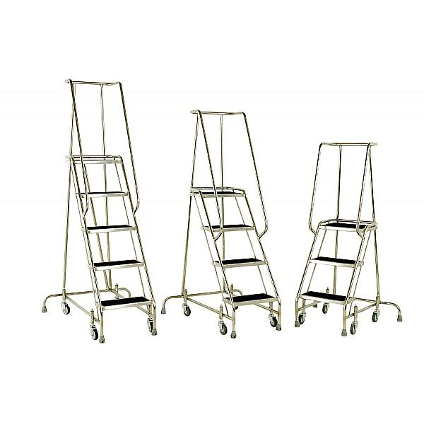 Steptek Stainless Mobile Steps