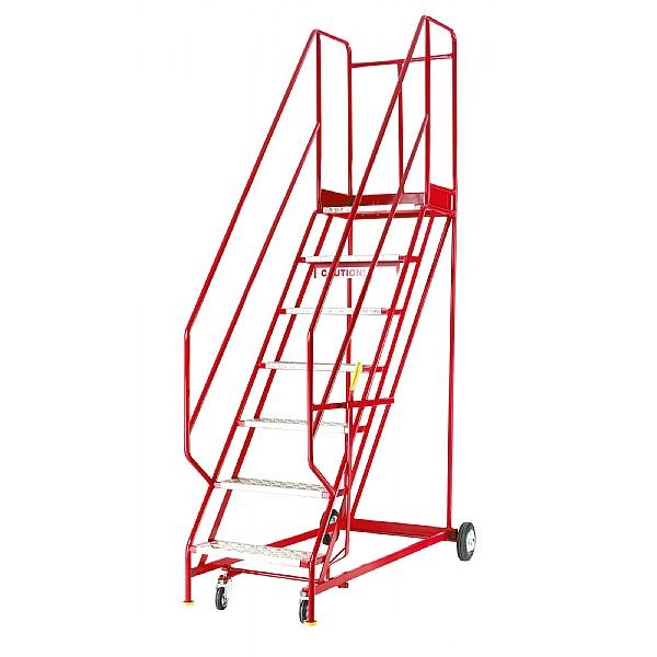 Steptek Quality Red Range Mobile Steps