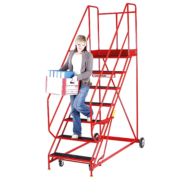 Steptek Easy Rise Mobile Steps with Hand Anchorage