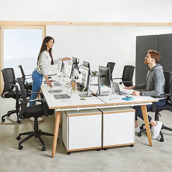 Novigami Yunique Back to Back Modular Bench Desks