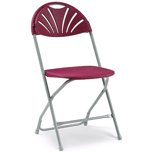 NEXT DAY Fan Back Folding Chair (Pack of 8)