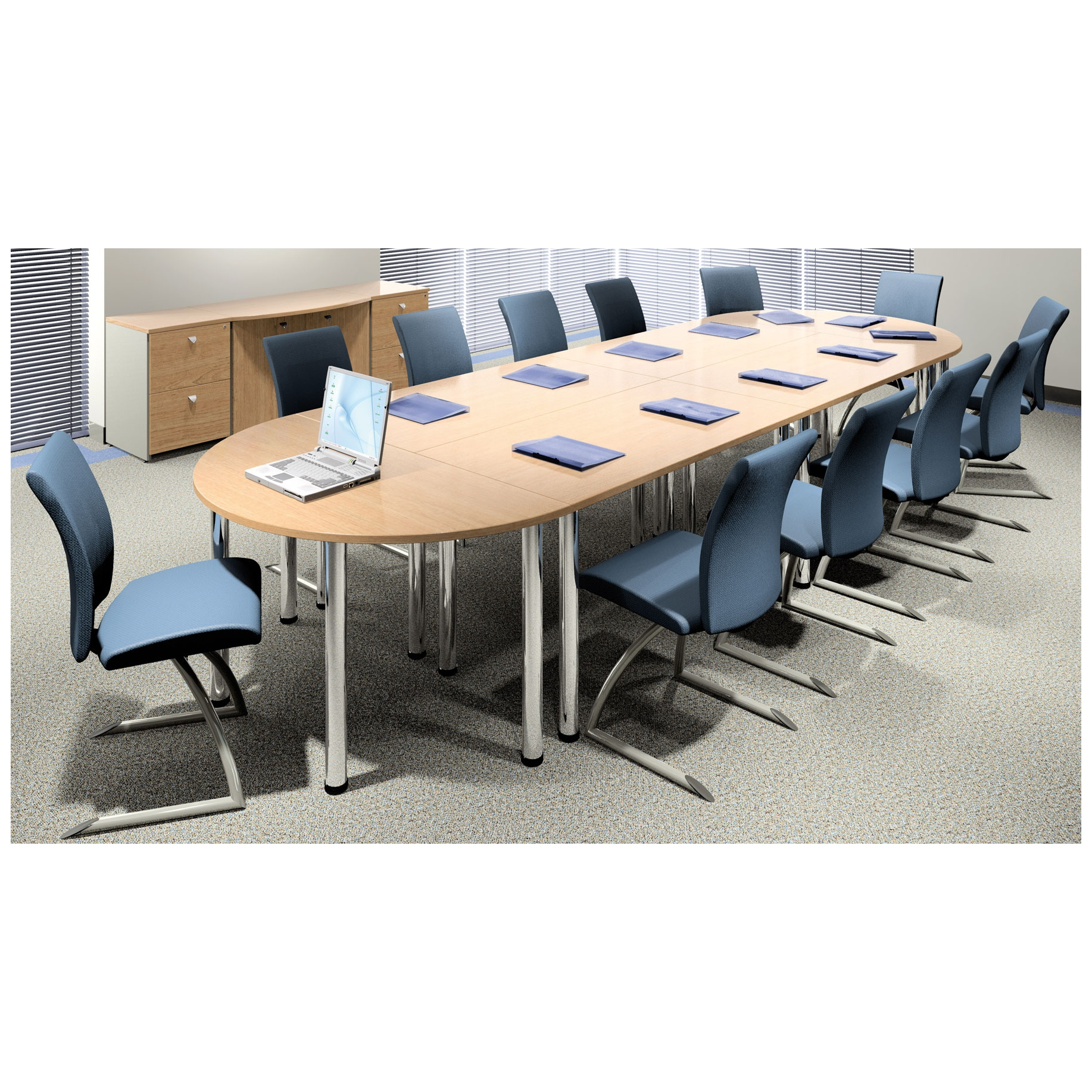 Deluxe Sectional Tables Meeting Boardroom Furniture