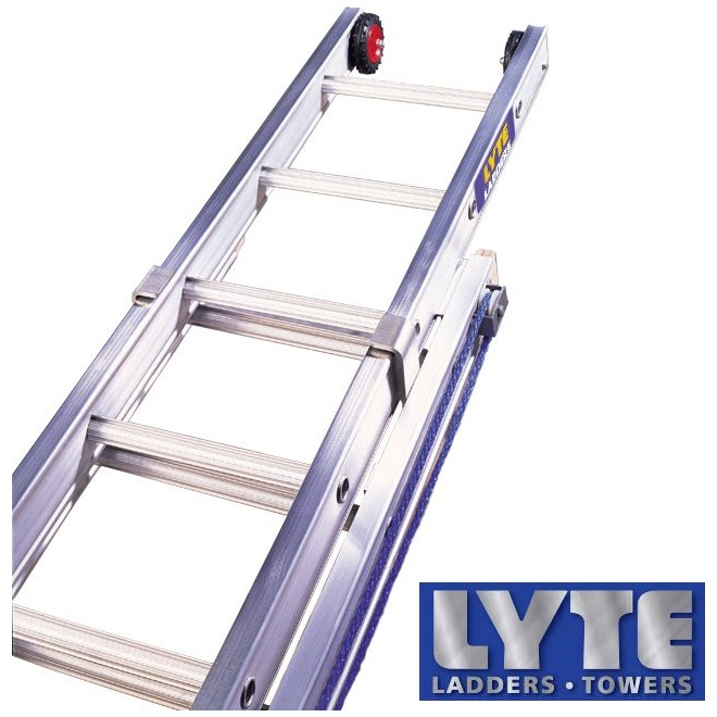 Lyte Industrial Heavy Duty Rope Operated Extension Ladders Extension Ladders
