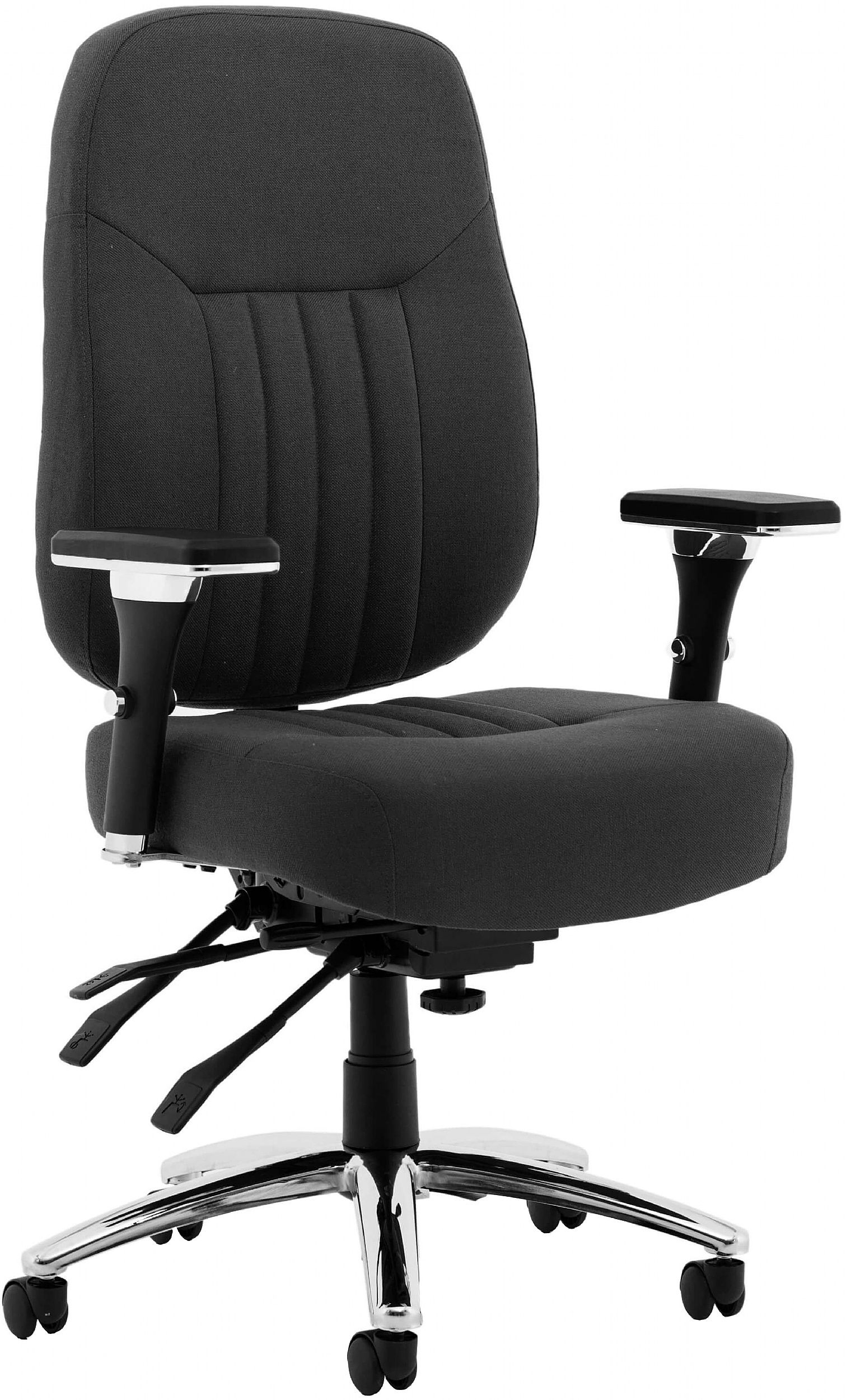 Picture of: Katmai Deluxe Fabric Office Chair Executive Office Chairs
