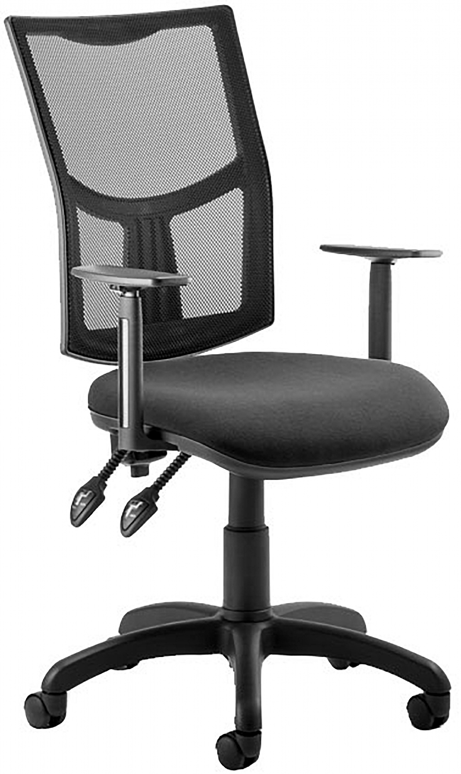 Picture of: Blazer 2 Lever Mesh Office Chairs Operator Task Chairs