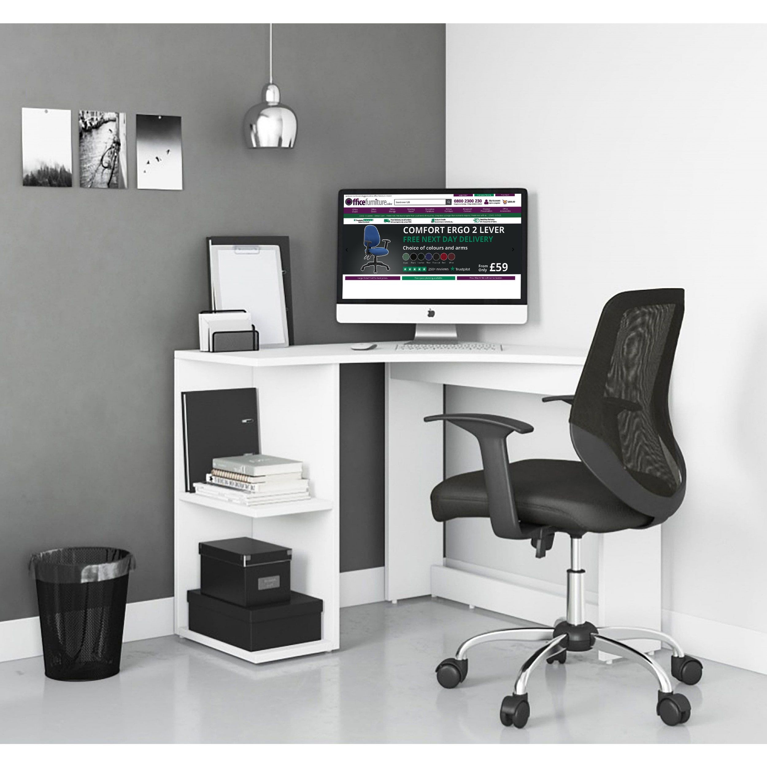 Ace Home Office Corner Computer Desk Home Computer Desks